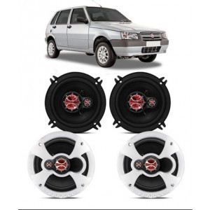 Kit Alto Falante Fiat Uno 2013 A 2020 240w Rms – Kf.038a
