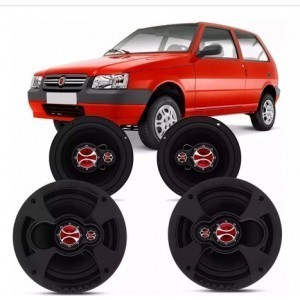 Kit Alto Falante Fiat Uno 2013 A 2020 240w Rms – Kf.038p