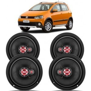 Kit Alto Falante Cross Fox 2010 A 2020 240w Rms – Kf.015